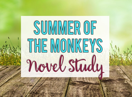 Summer of the Monkeys Novel Study