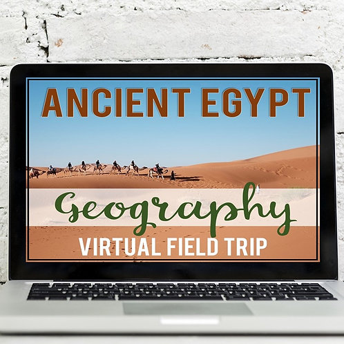 Ancient Egypt Geography Virtual Field Trip (Google Earth Exploration)