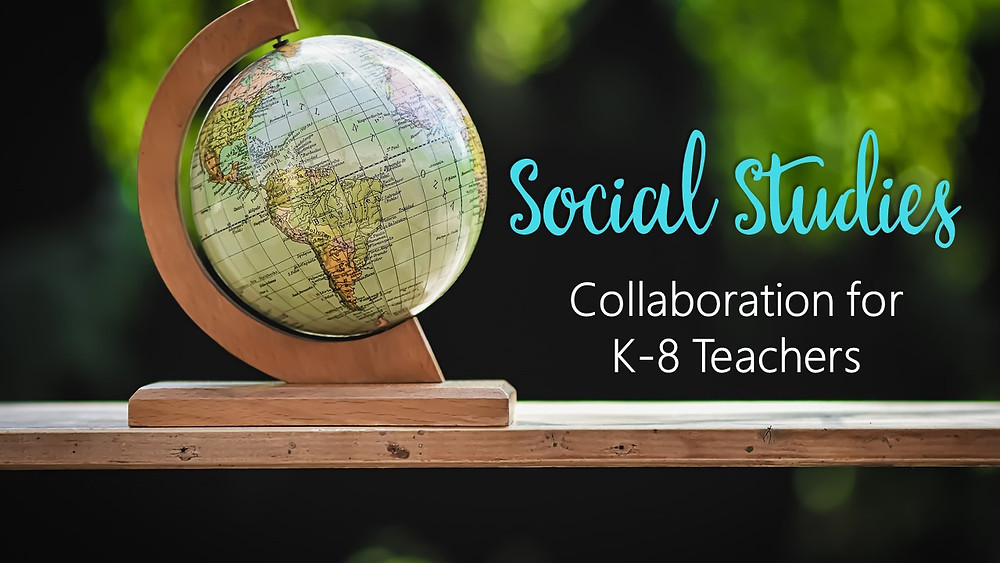 Facebook group for elementary teachers looking for social studies ideas and collaboration