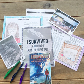 I Survived the Eruption of Mt. St. Helens Book Study