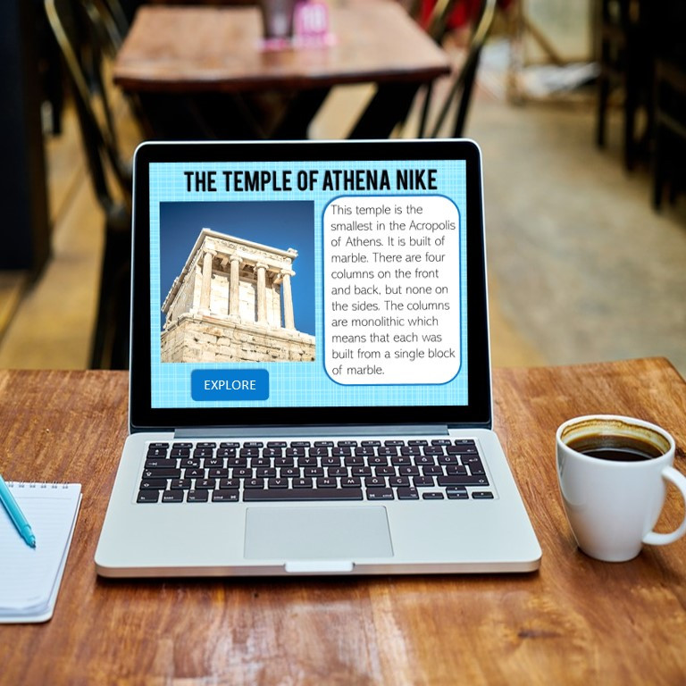 Acropolis of Athens activity for Google Classroom