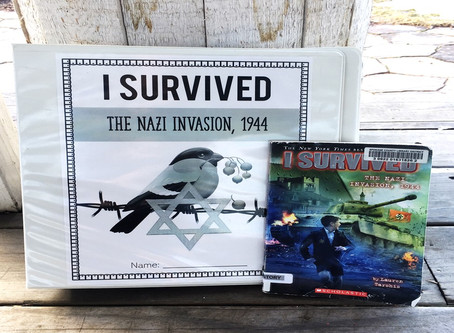I Survived the Nazi Invasion, 1944 Comprehensive Book Study