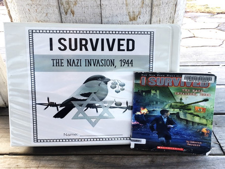 I Survived the Nazi Invasion, 1944 Comprehensive Book Study