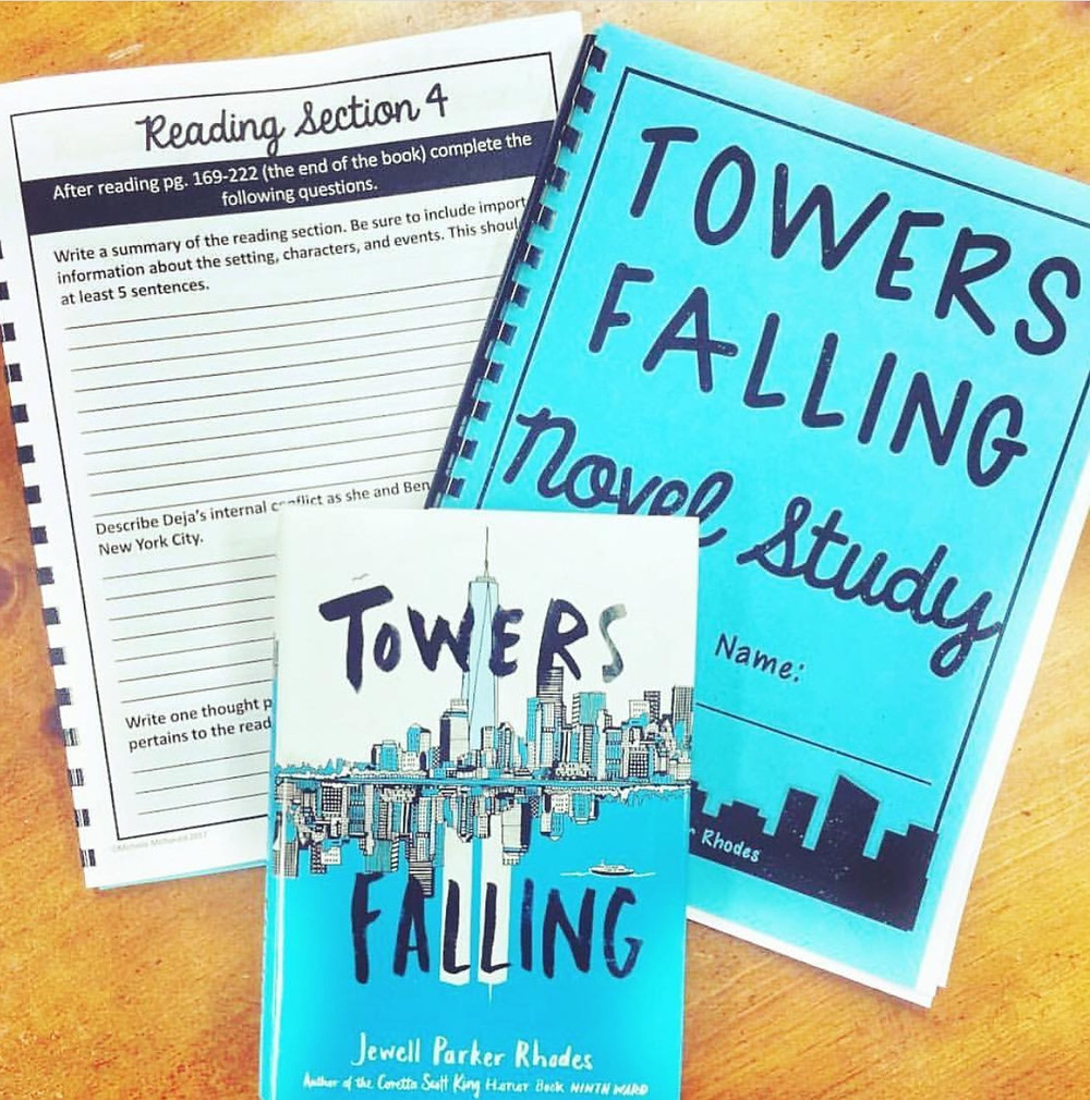 Towers Falling Book Study for upper elementary