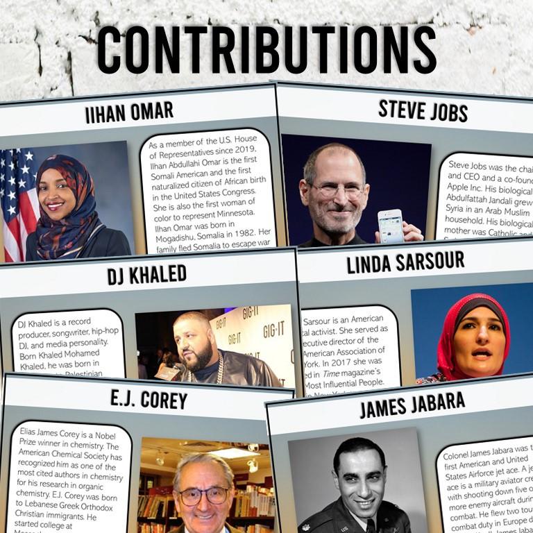 Arab American Contributions Lesson