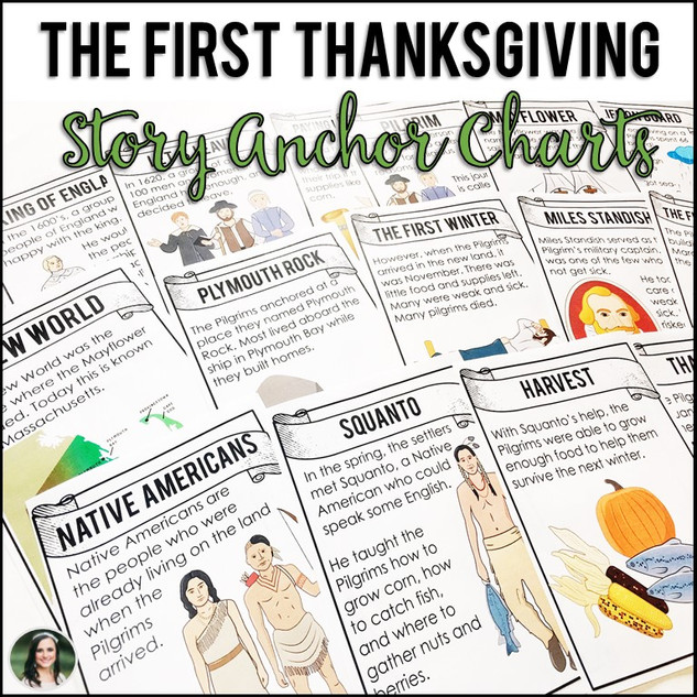 Thanksgiving Story Posters & Mini Book