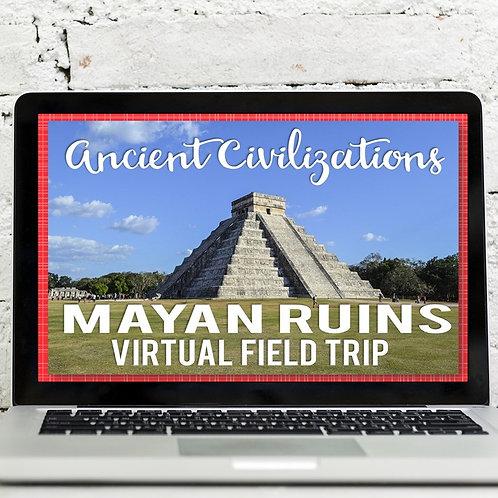 Ancient Civilizations: Mayan Ruins Virtual Field Trip Google Earth Exploration