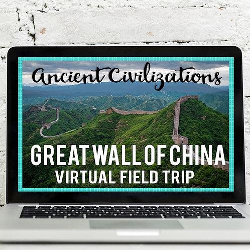 Great Wall of China Virtual Field Trip (Google Earth)