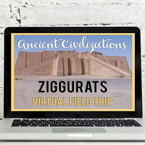 Ancient Civilizations: Ziggurats Virtual Field Trip (Google Earth Exploration)