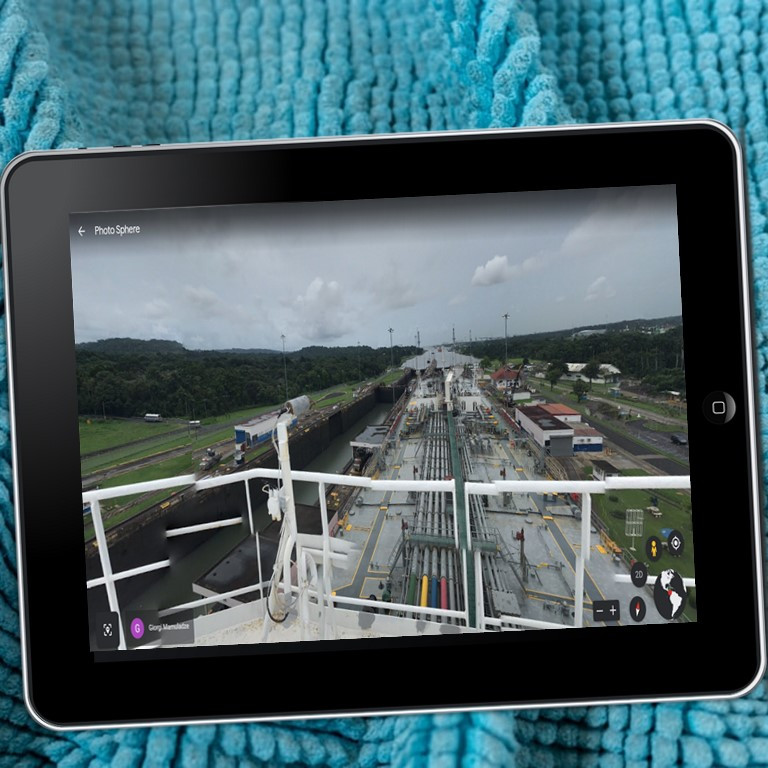 Google Compatible Virtual Field Trip to the Panama Canal