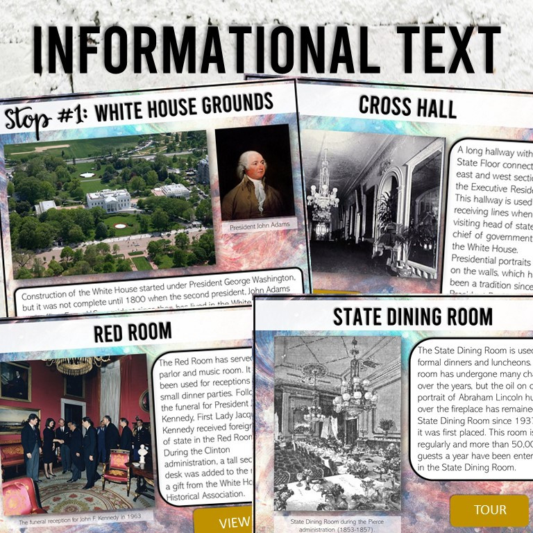 Google Compatible Virtual Field Trip to the White House