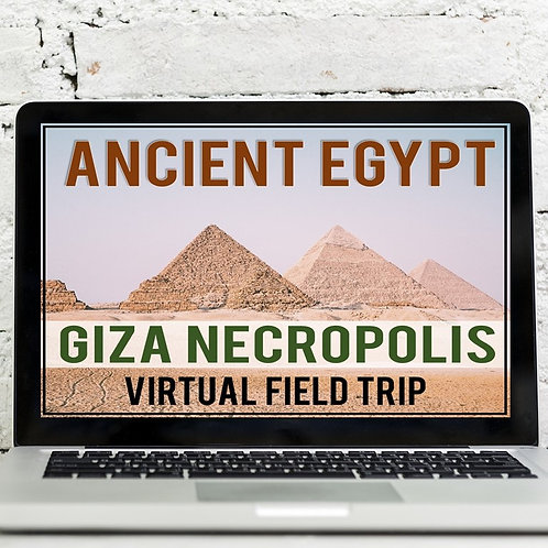 Ancient Egypt Virtual Field Trip: Great Pyramid of Giza, Great Sphinx & More
