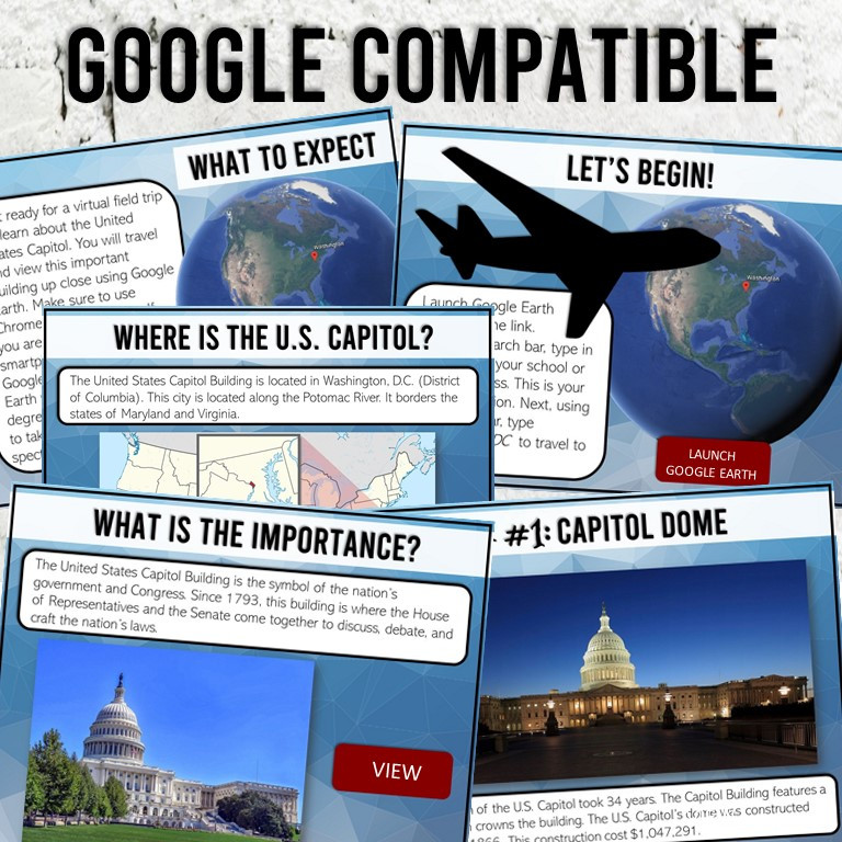 US Capitol Virtual Tour for Kids