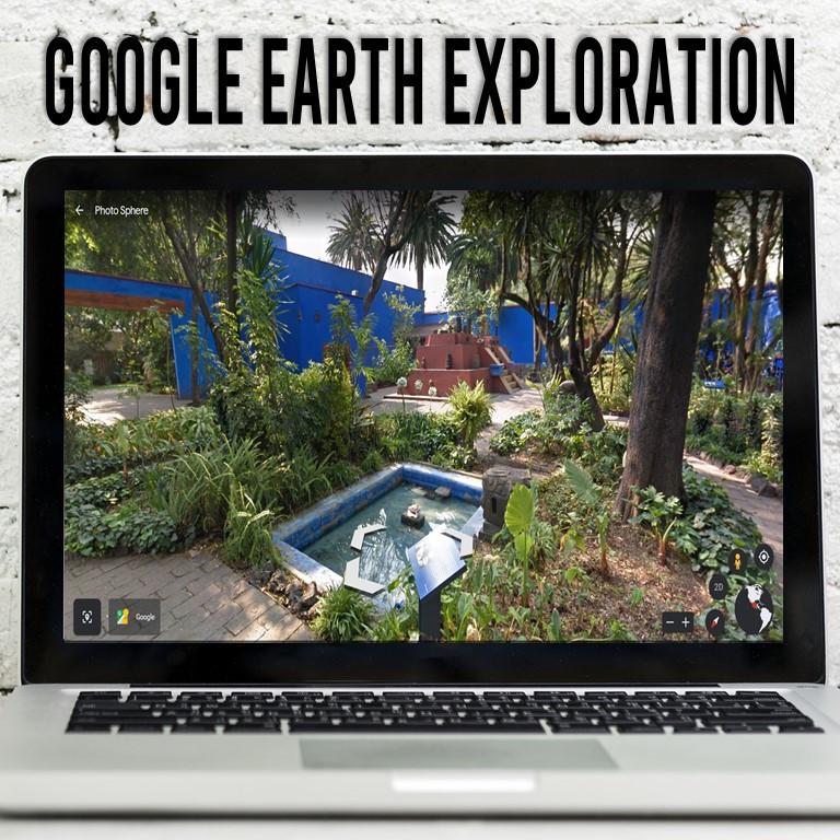A virtual field trip to La Casa Azul