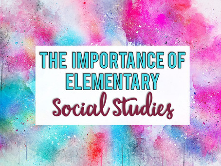 The Importance of Social Studies