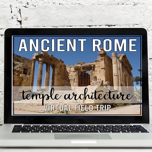 Ancient Rome Temples Virtual Field Trip