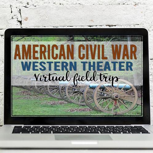 American Civil War: Western Theater Virtual Field Trip (Google Earth)
