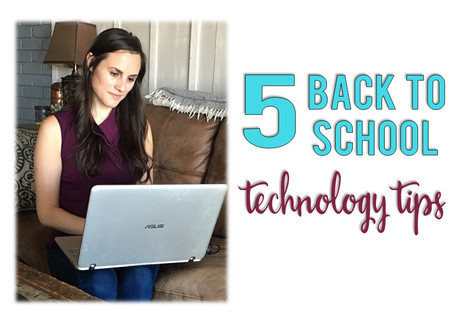 5 Back to School Technology Tips for Virtual Learning