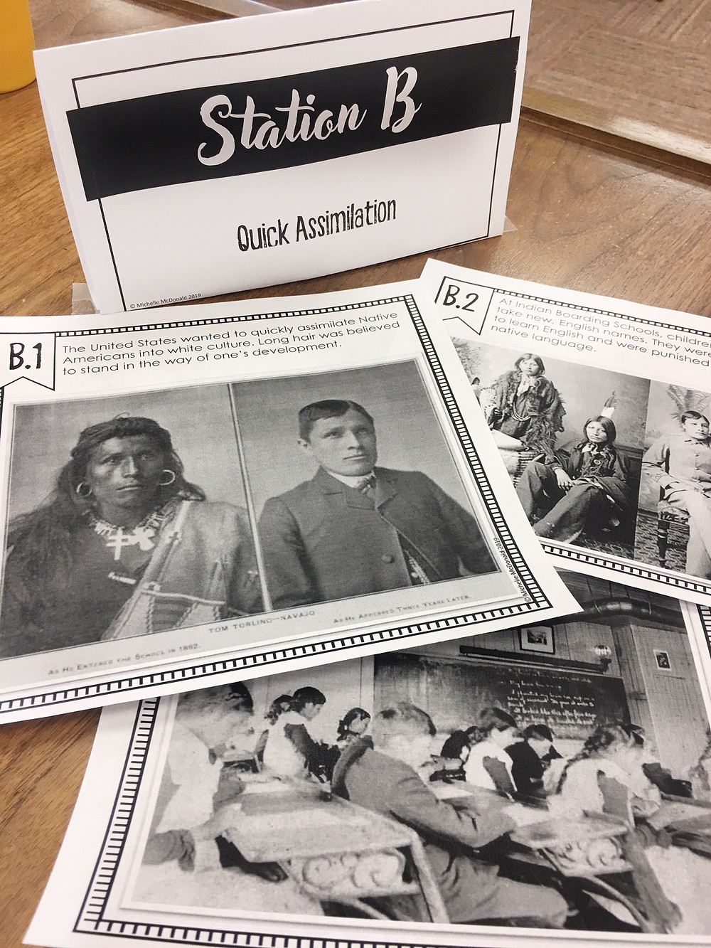 Native American Studies Primary Source Analsyis Stations