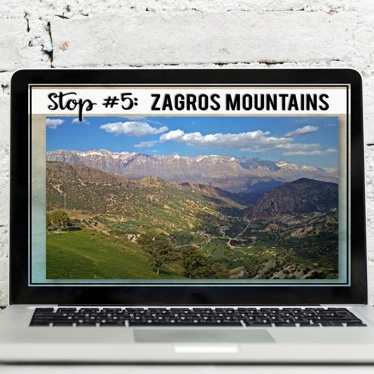Ancient Mesopotamia Geography Zagros Mountains