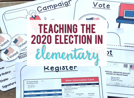 Teaching the 2020 Election in Elementary
