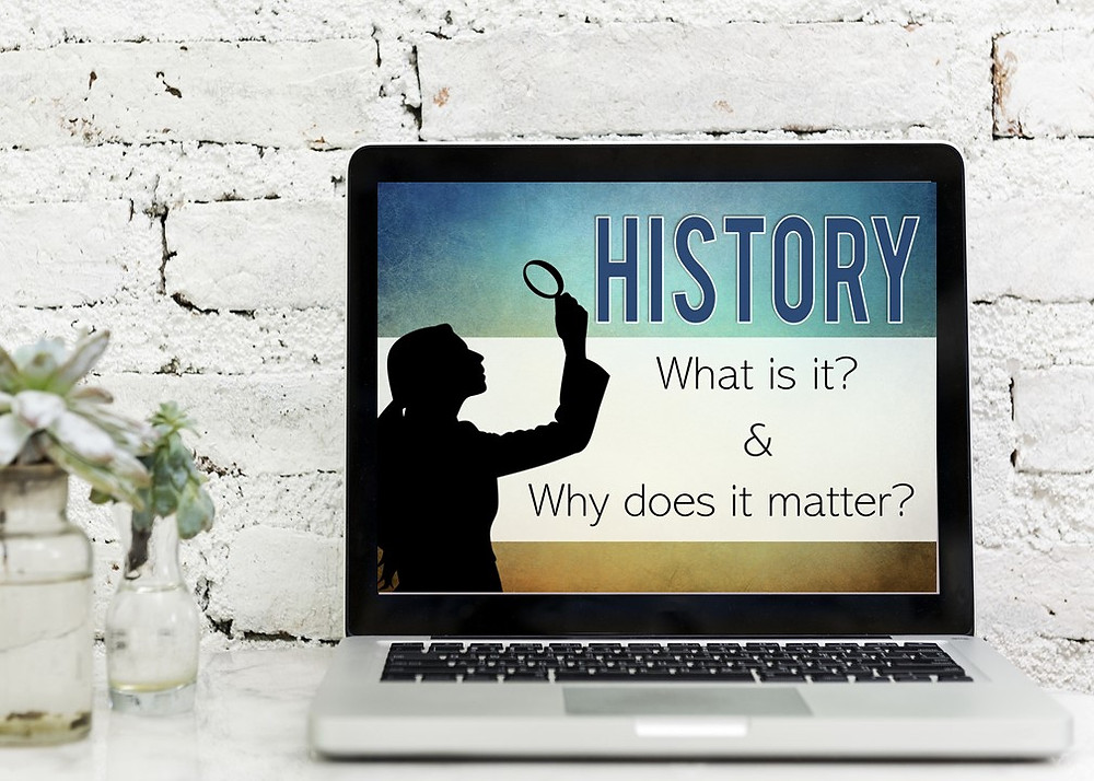 History: What is is and why does it matter. This is an introductory history lesson for upper elementary or middle school.