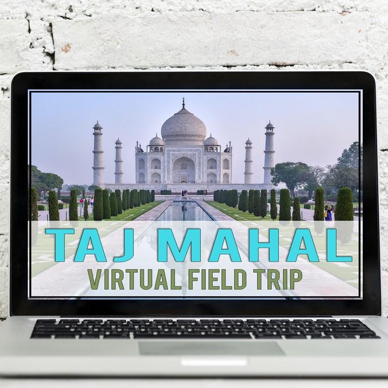 Taj Mahal activities for digital learning