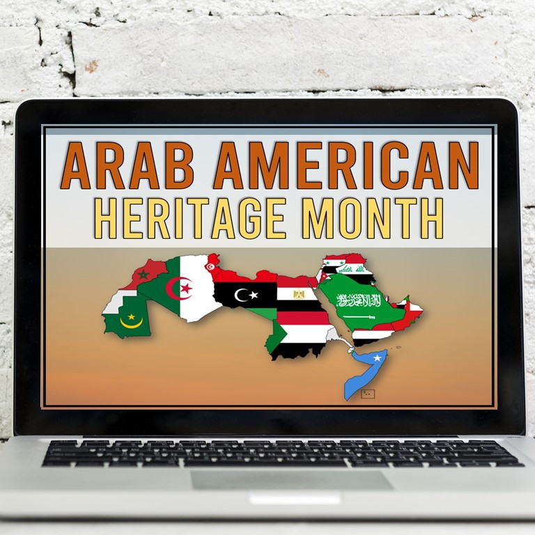 Arab American Heritage Month Activity for Big Kids