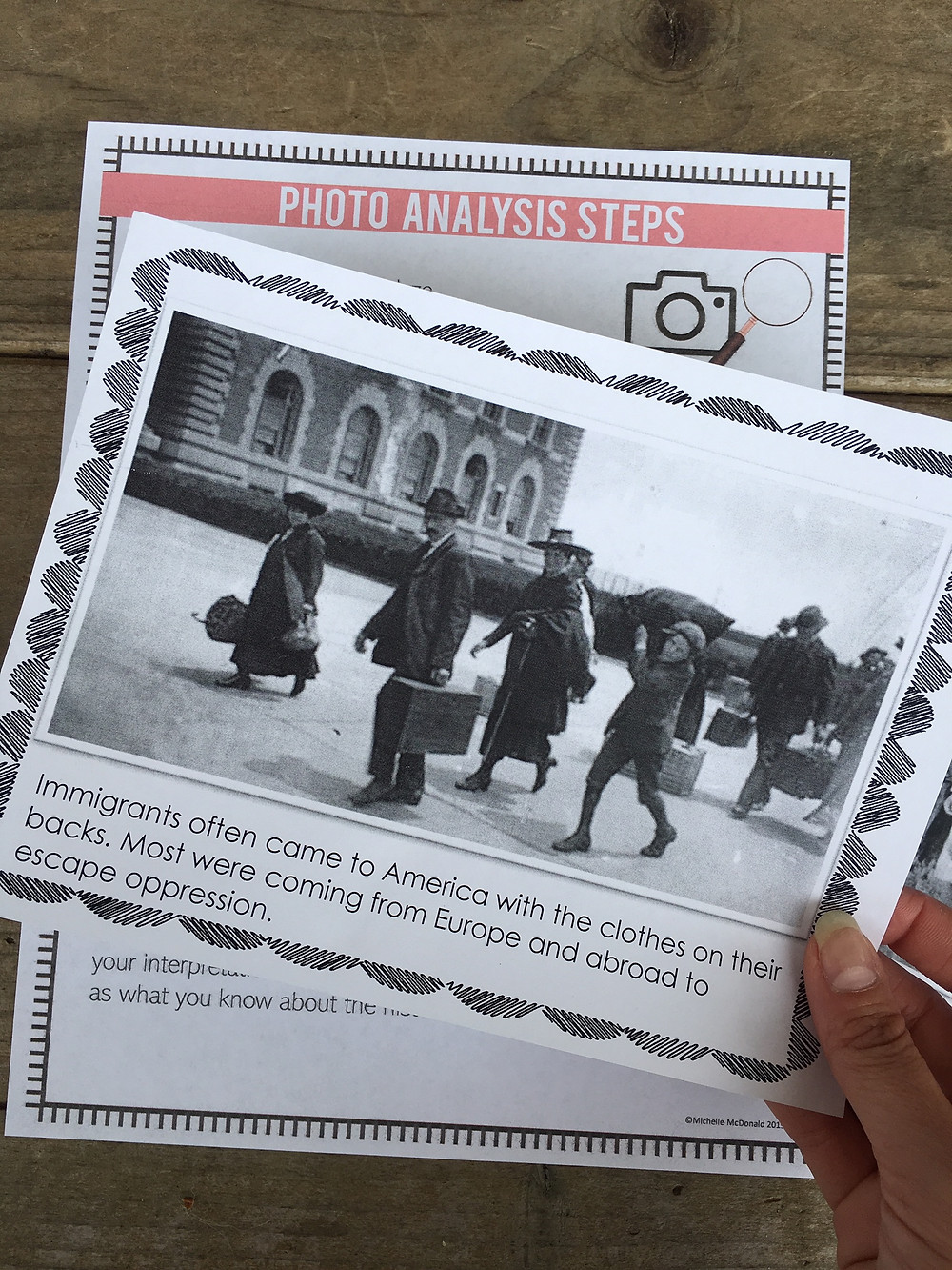 how to use the analysis of historical photos in your social studies class