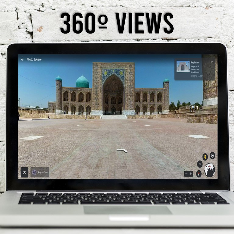 Take your ancient history class on a virtual tour of the silk road.