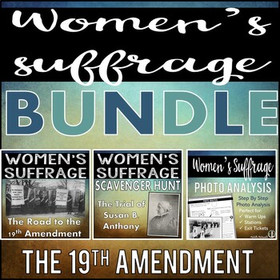 Women's Suffrage Unit Bundle
