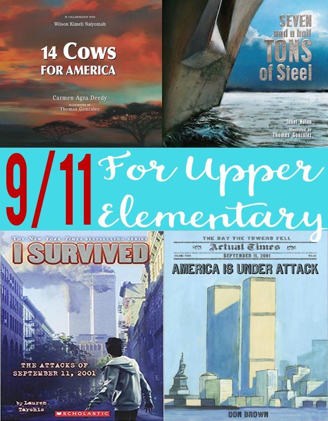 September 11th books for upper elementary