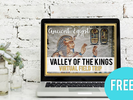Free Virtual Field Trip to Ancient Egypt Valley of the Kings