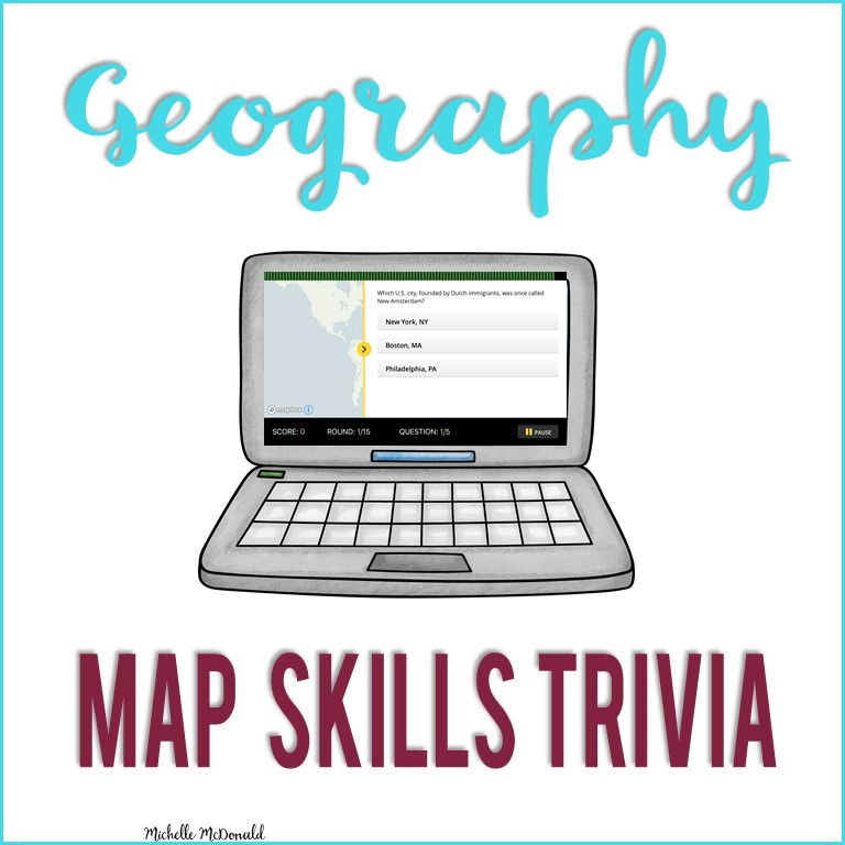 Map Skills Game Apps for Kids and Teens