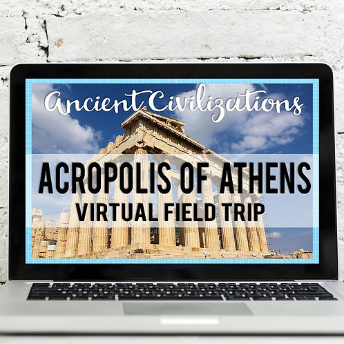 Ancient Civilizations: Acropolis of Athens Virtual Field Trip (Google Earth)