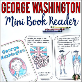 George Washington Mini Book