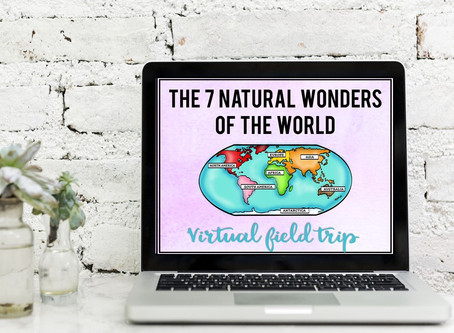 Take a Virtual Field Trip to the Seven Natural Wonders of the World