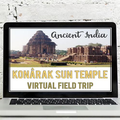 Ancient India: Konarak Sun Temple Virtual Field Trip