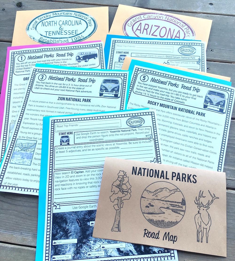 National Parks Virtual Field Trip Webquest