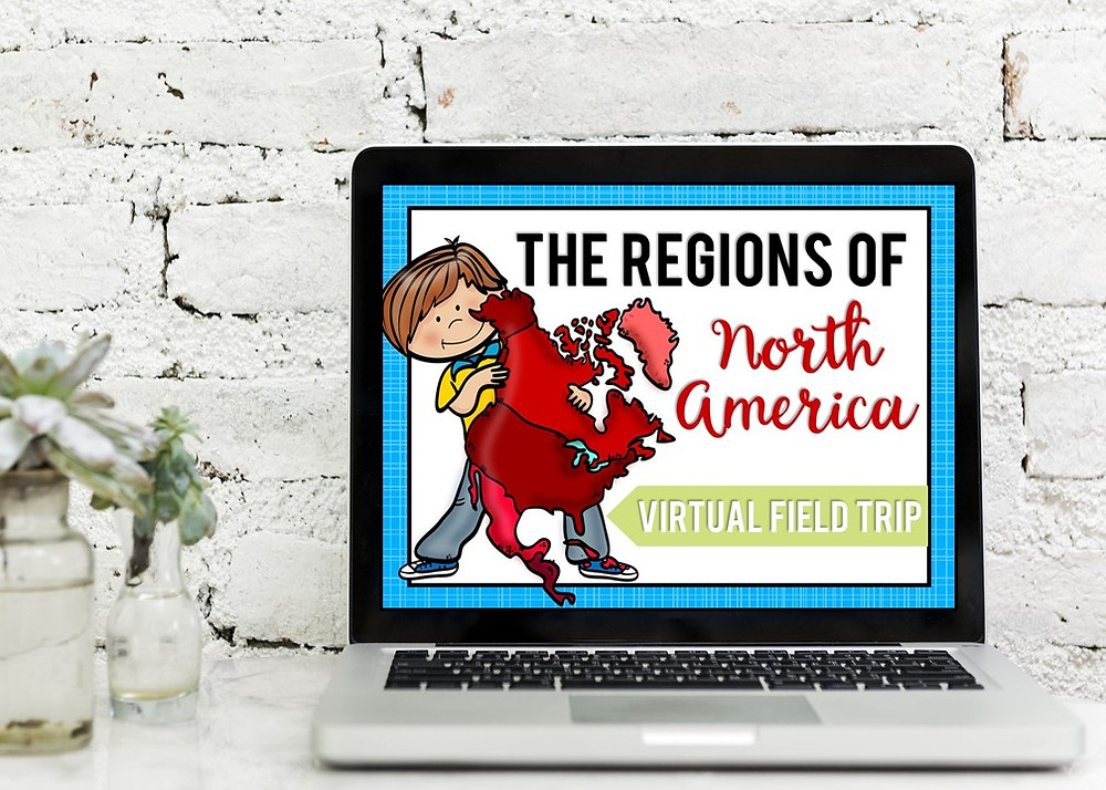 Regions of North America Virtual Field Trip