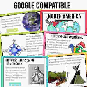 Google Earth Virtual Field Trip No Prep