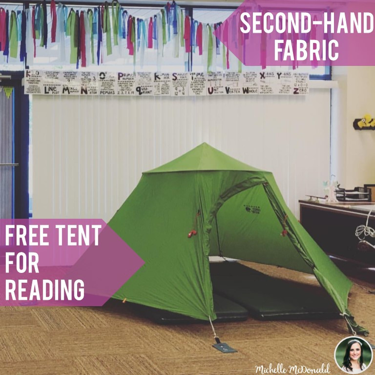 Money Saving Reading Space Ideas for Teachers