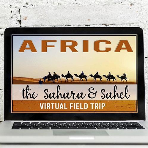 Africa: Sahara & Sahel Virtual Field Trip (Google Earth Exploration)