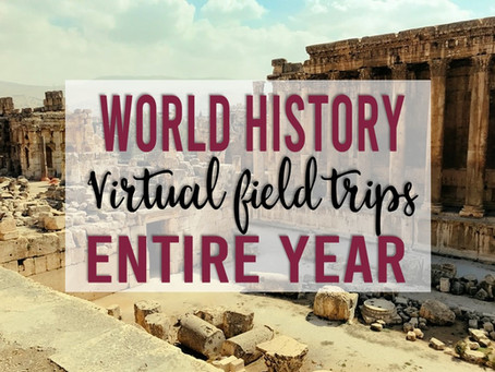 World History and Geography Virtual Field Trips for the Entire School Year