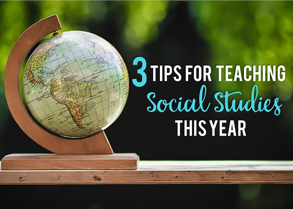Advocating for social studies during the 2020-2021 school year