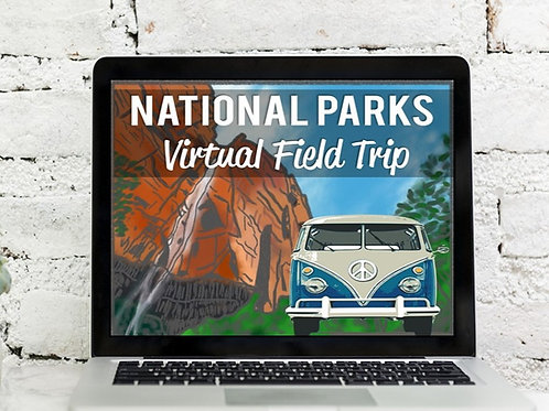 National Parks Virtual Field Trip: Google Earth Exploration (Distance Learning)