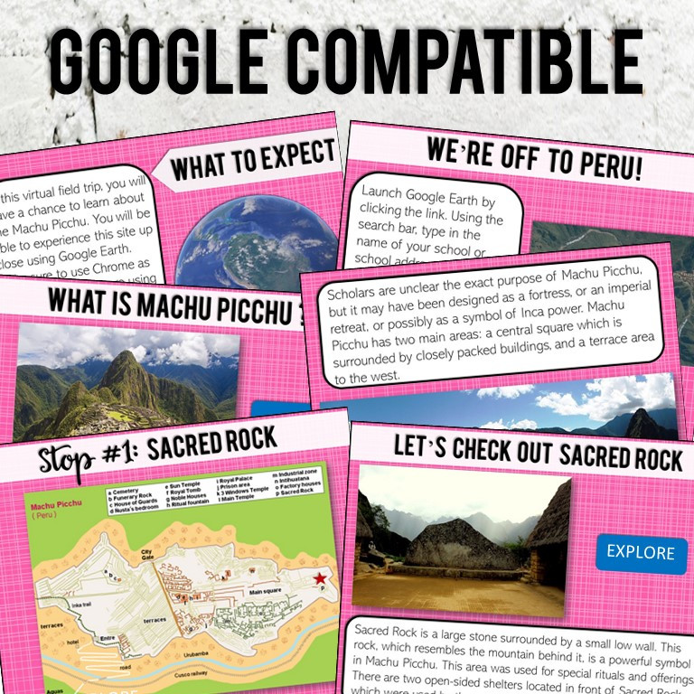 Virtual Field Trip using Google Earth for Middle School