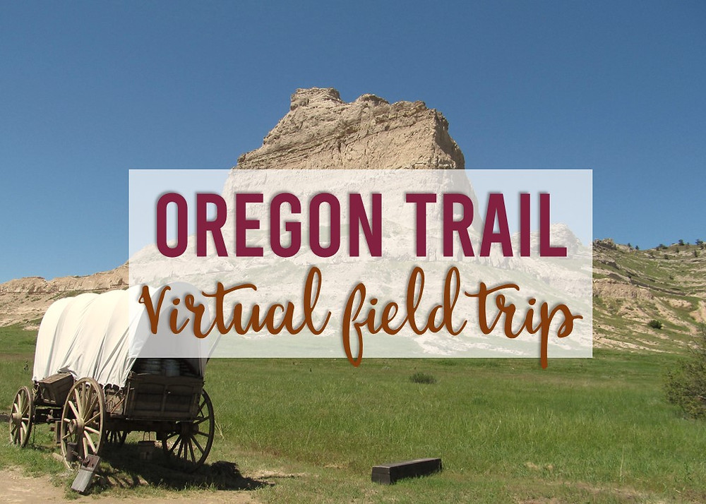 An engaging and interactive virtual field trip with stops along the Oregon Trail