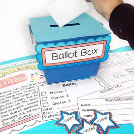 Mock Election Simulation Activity for Elementary