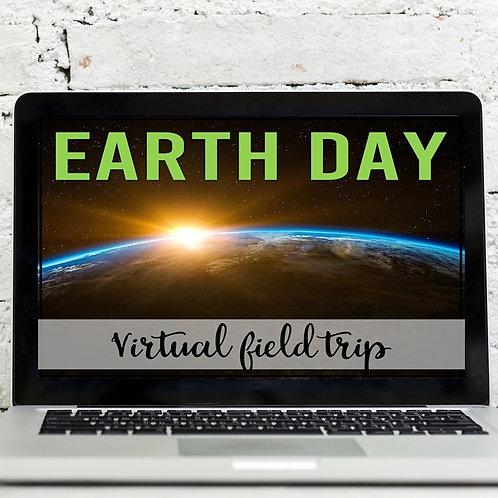 Earth Day Virtual Field Trip (Google Earth Exploration)